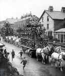 Circus parade, Victoria Road, Scarborough